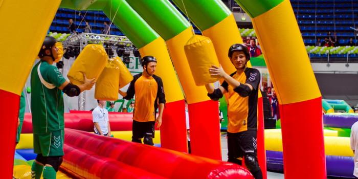 Аренда полосы препятствий на спортивный праздник