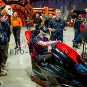 Симулятор машины с очками VR