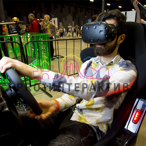 Аренда автосимулятора с VR очками на праздник
