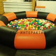 Сухой бассейн с шариками в аренду