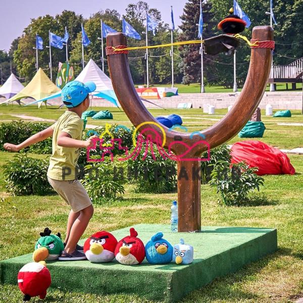 Аттракцион Angry Birds в аренду на детский праздник