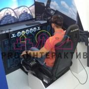Авиасимулятор в VR очках в аренду