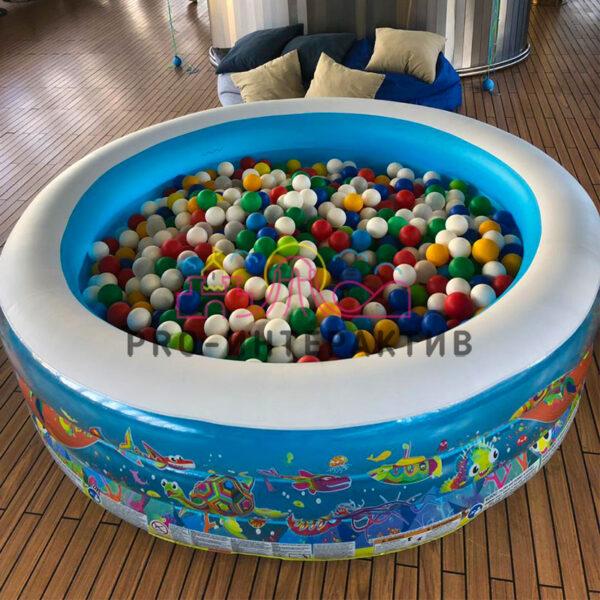 Бассейн с шариками для детей маленький