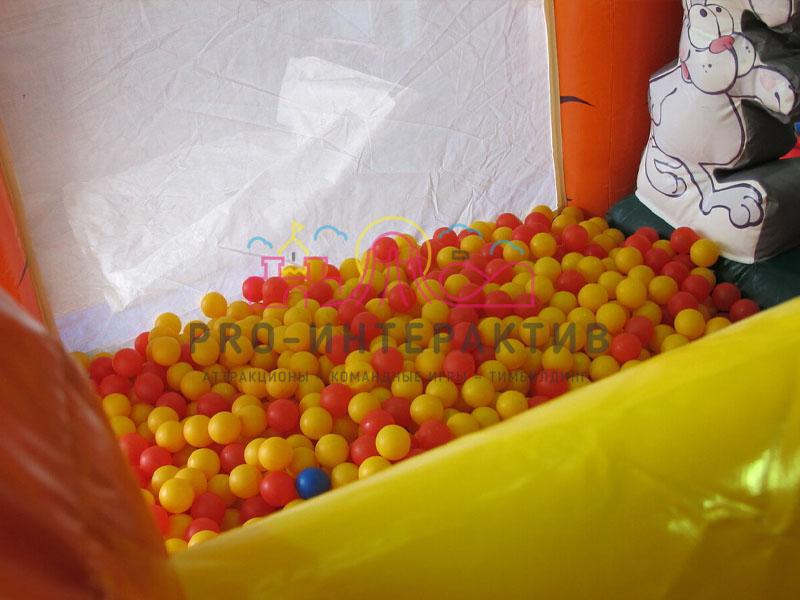 Заполненный шариками