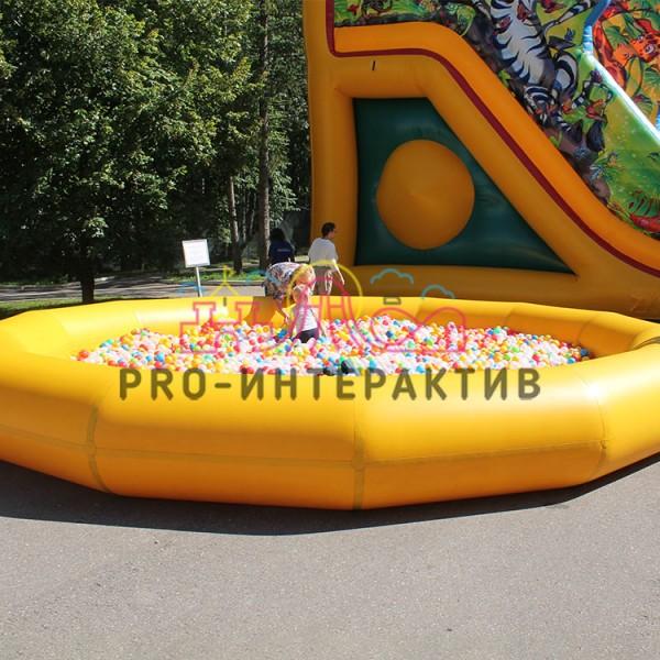 Большой сухой бассейн в аренду на праздник