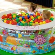 Сухой бассейн в аренду на мероприятие