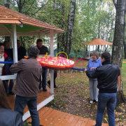 Аттракцион Доставка пиццы в аренду на праздник