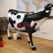 Необычный аттракцион дойная корова в аренду