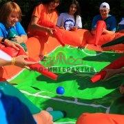 Аттракцион воздушный футбол в аренду на праздник