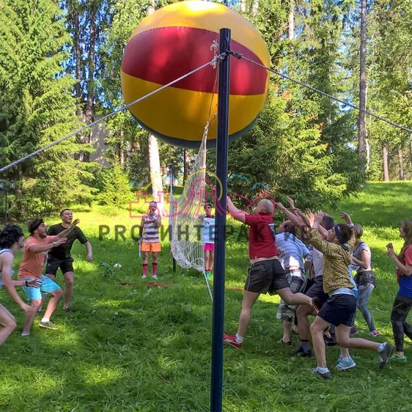 Гигантский волейбол на праздник
