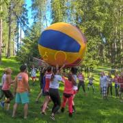 Потешный волейбол