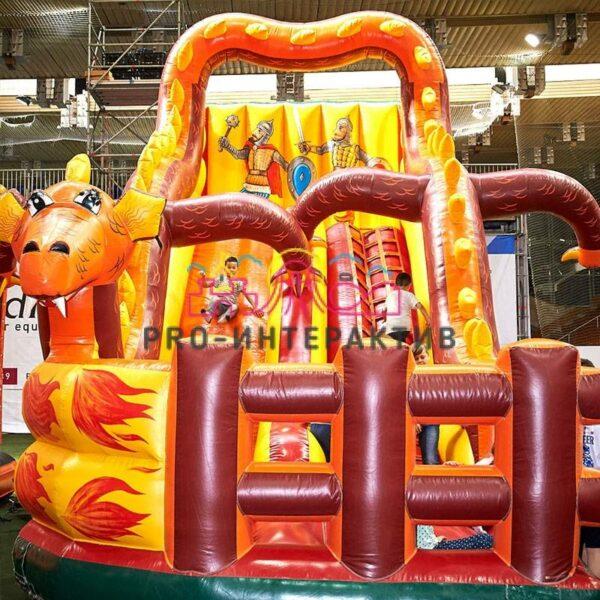 Горка Змей Горыныч в аренду на детский праздник