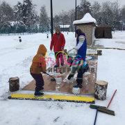 Керлинг по-русски в аренду зимой