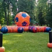 Лабиринт футбольный мяч в аренду на праздник