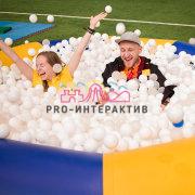 Надувной бассейн с шариками в аренду