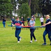 Организация тимбилдинга на празднике с командными развлечениями