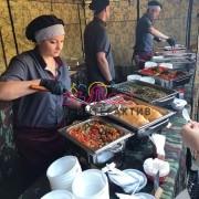 Заказать обед для гостей на праздник под открытым небом