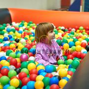 Сухой Бассейн с шарами в аренду на детский праздник