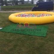 Большой сухой бассейн на детский праздник