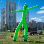 Зелёный аэромен в аренду