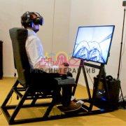 Аренда аттракциона Авиасимулятор VR виртуальная реальность на корпоративное мероприятие