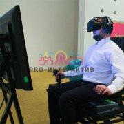 Аренда аттракциона Авиасимулятор VR виртуальная реальность на корпоратив