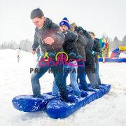 Аттракцион Лыжи командные в аренду на мероприятие