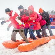 Аттракцион Лыжи командные в аренду на тимбилдинг