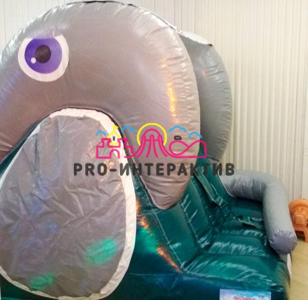 Надувная горка Слоник в аренду на детский праздник