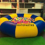 Надувной бассейн с шариками Средний в аренду на детский праздник