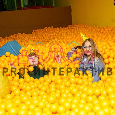 Наполнение шариками для детского сухого бассейна