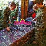 Сборка разборка оружия на военный или армейский праздник