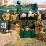 Аренда полевой кухни на праздник