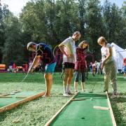 Организация игры в Мини гольф