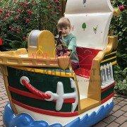 Аттракцион качалка корабль