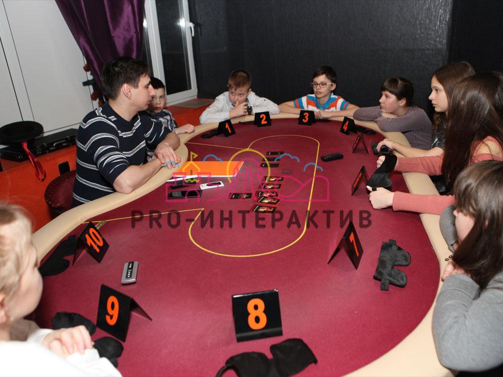 Организация фан-казино с мафией на празднике