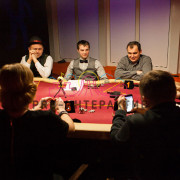 Игра мафия со столом на мероприятие