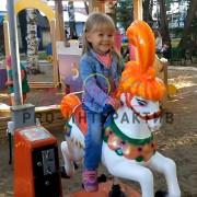 Аренда качалки Лошадка в аренду на детский праздник 1
