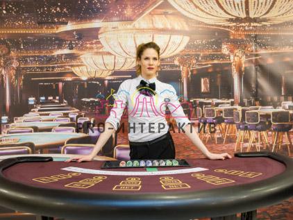 Баннер в стиле казино