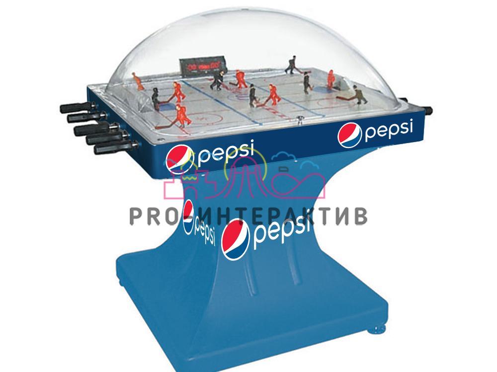 Брендирование хоккейных столов