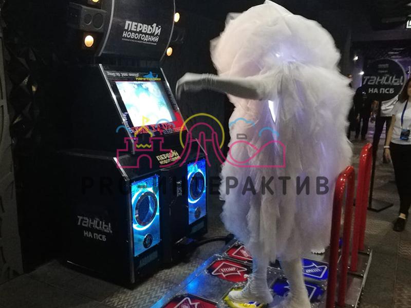 брендирование танцевальной машины