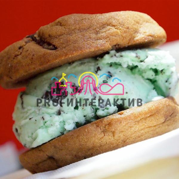 Фан-кейтеринг: бургер с мороженым
