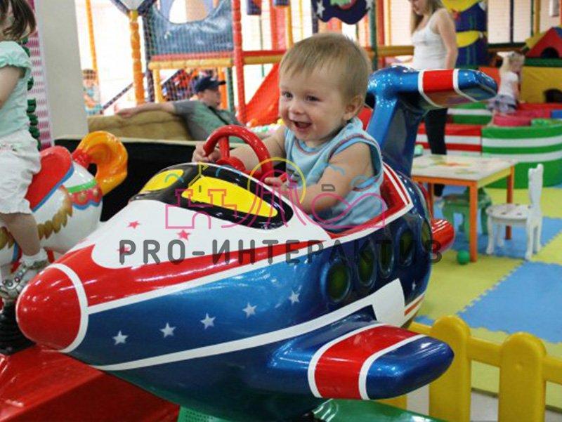 Детская качалка Самолет на праздник для ребёнка
