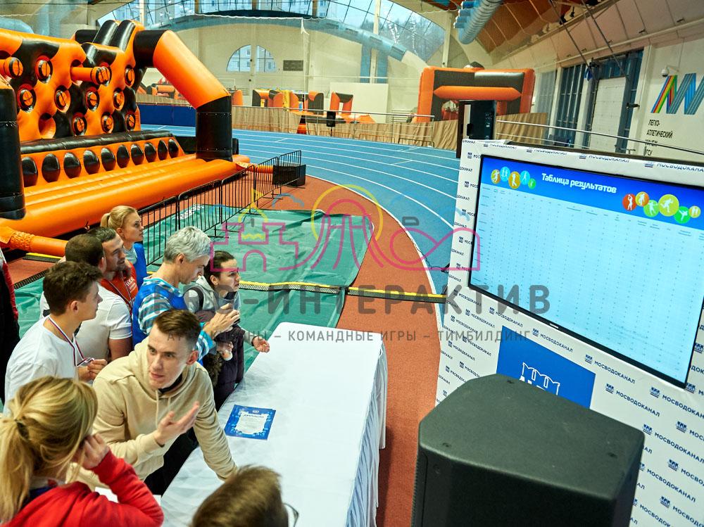Электронная турнирная таблица для спортивного мероприятия