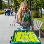 Аренда настольного футбола на мероприятие в москве