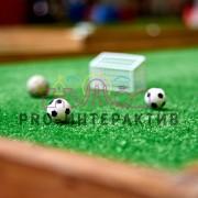 Прокат мини гольфа в футбольной тематике