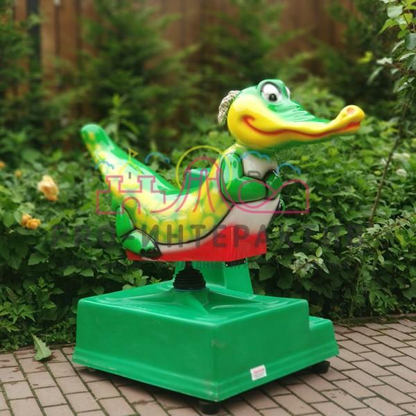 Детская качалка крокодил на день рождения
