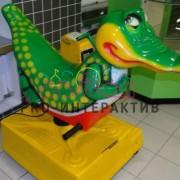 Аренда качалки крокодил на детский праздник