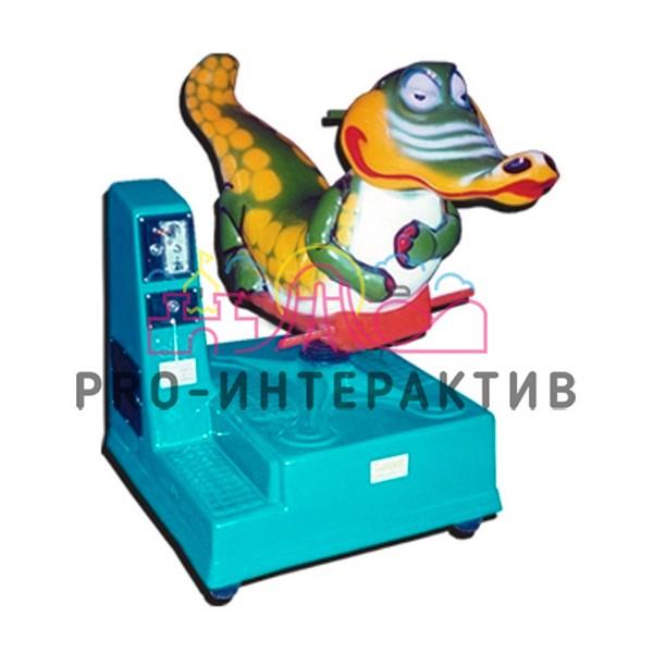 Аренда аттракциона качалка крокодил