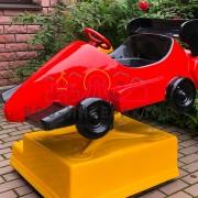 Качалка гоночная машинка на праздник